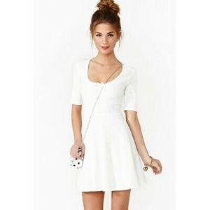 NWT For Love & Lemons Size Small Ivory Dress